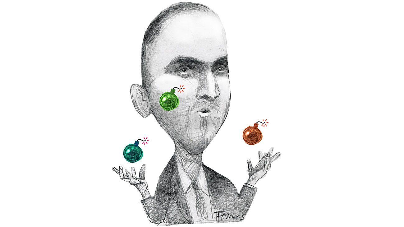 El arte del malabar, Martín Guzmán.