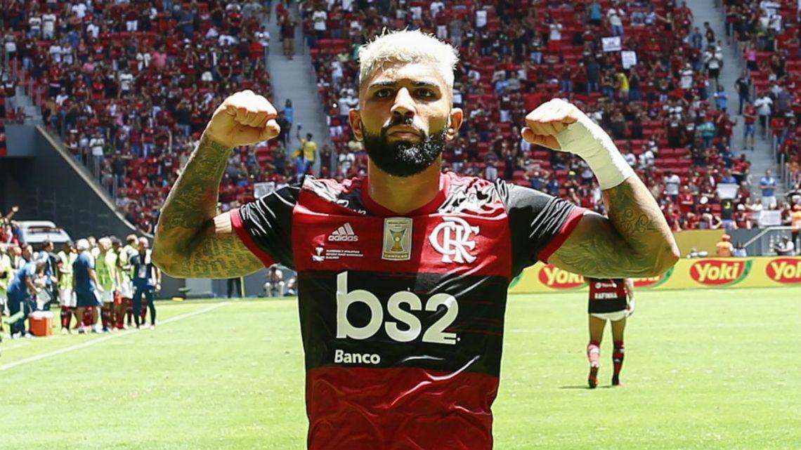 Se le hizo costumbre: Flamengo es el campeón de la Supercopa de Brasil