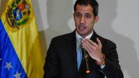 """El líder opositor y """"presidente encargado"""" de Venezuela, JuanGuaidó"""