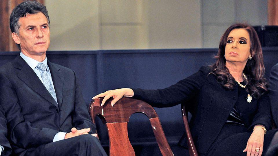 Dichos. La vicepresidenta relacionó a Macri con la mafia.