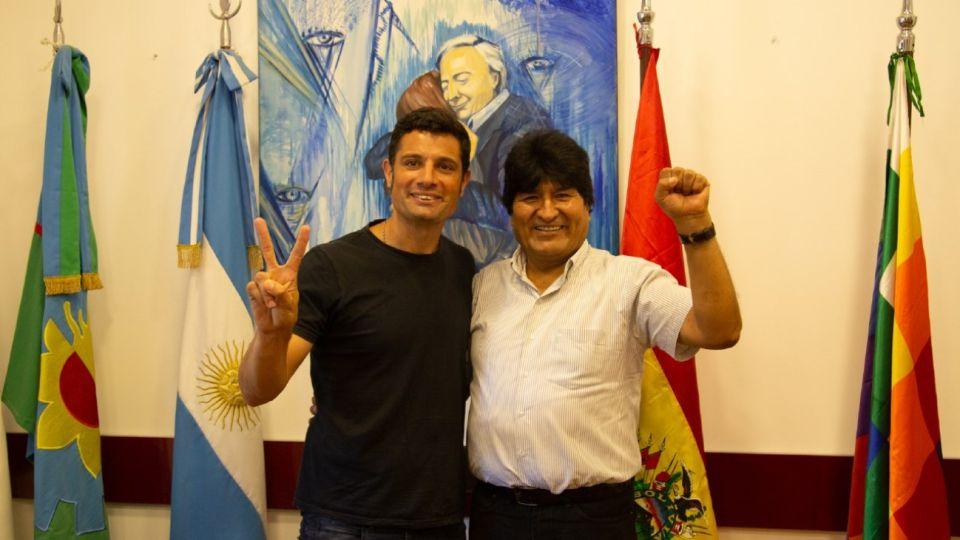 Evo Morales vuelve a la Argentina.