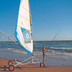 Las playas bonarenses, desde San Clemente hasta Punta Rasa, son ideales para la actividad.