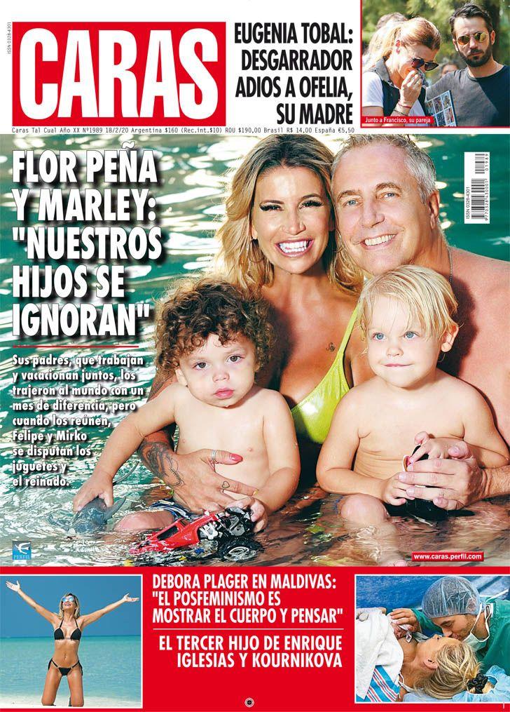 """Flor Peña y Marley: """"Nuestros hijos se ignoran"""""""
