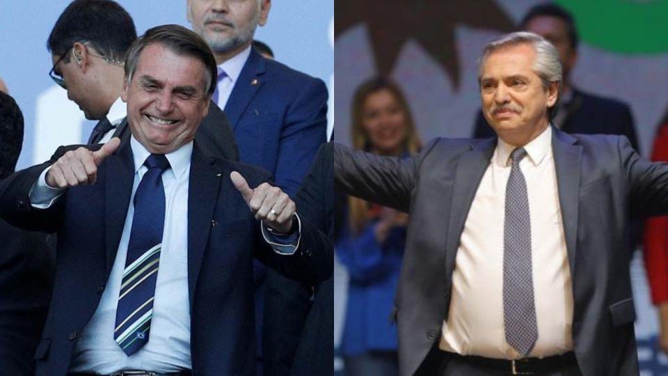 Bolsonaro quiere encontrarse con Alberto.