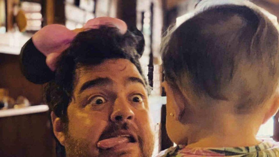 Dario Barassi y su hija