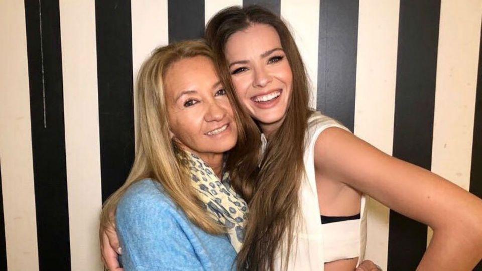 La China Suárez y Marcela Riveiro