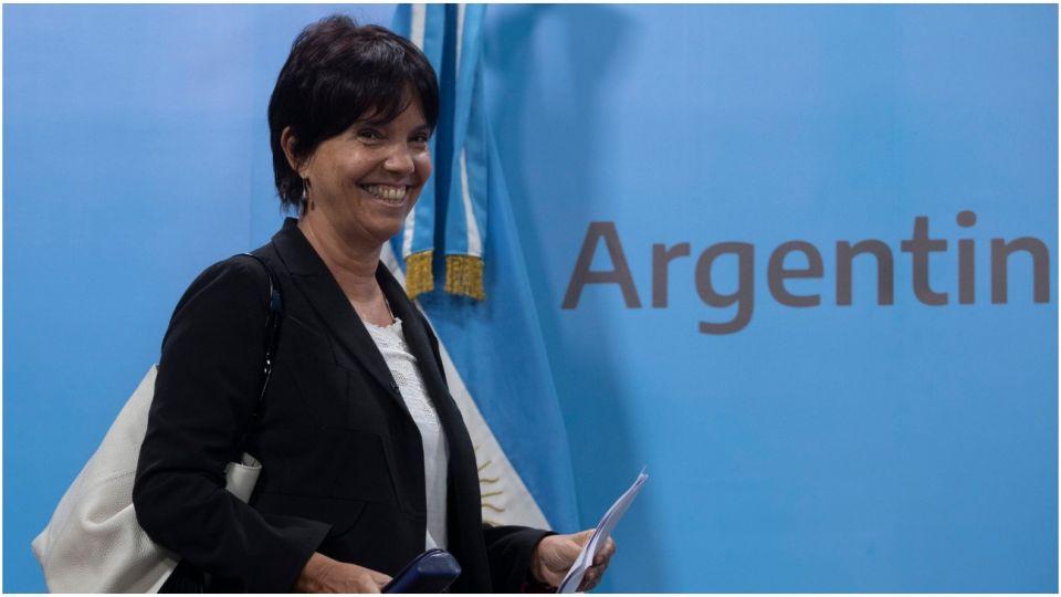 La titular de la AFIP, Mercedes Marcó Del Pont.