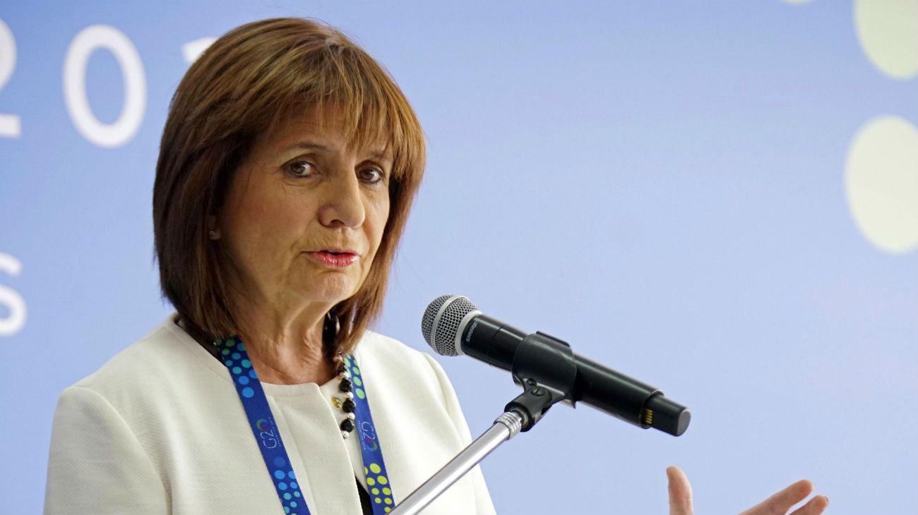"""Patricia Bullrich, presidenta del PRO. Una de las espadas """"duras"""" de la oposición."""