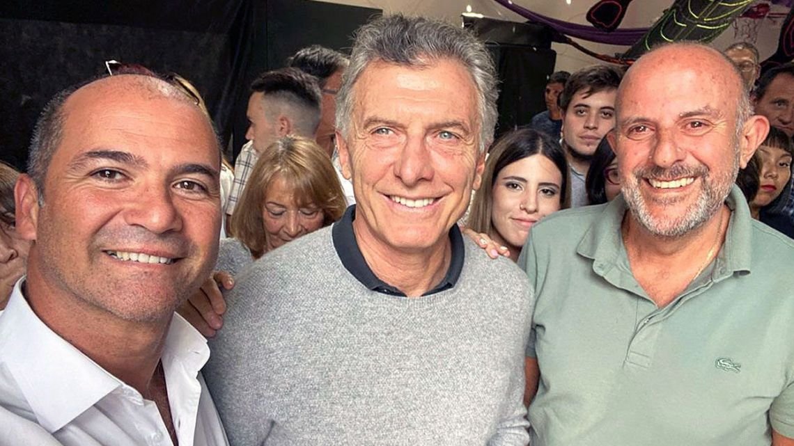 Former president Mauricio Macri, pictured in February 2020.