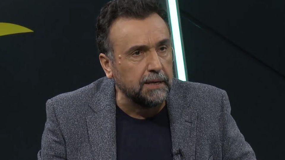 Roberto Navarro, periodista de El Destape.