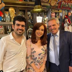 Cristina Kirchner festeja su cumpleaños 67. | Foto:Instagram Juan Manuel Valdés.