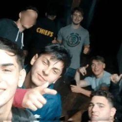 Última selfie de los rugbiers | Foto:cedoc