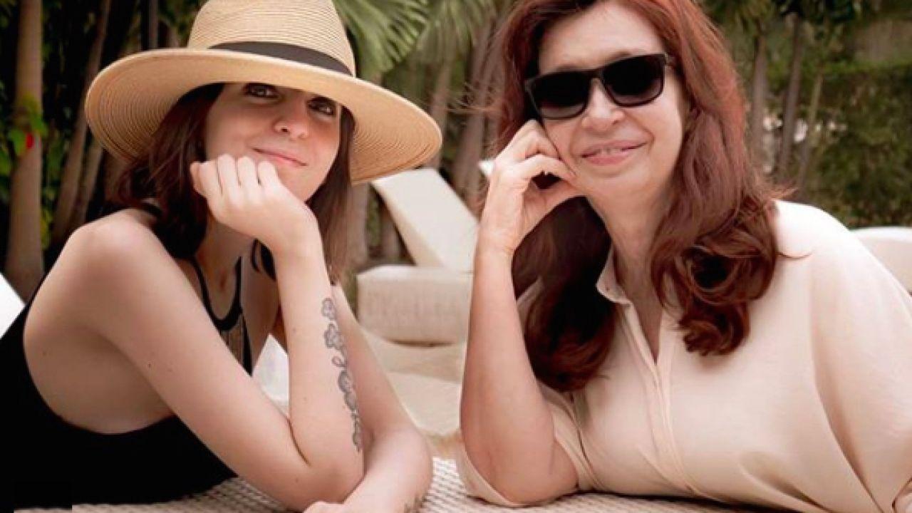 Cristina y Florencia Kirchner | Foto:Cedoc
