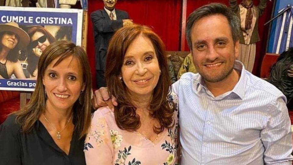 Así fue el look de Cristina Fernández de Kirchner en los festejos por su cumpleaños