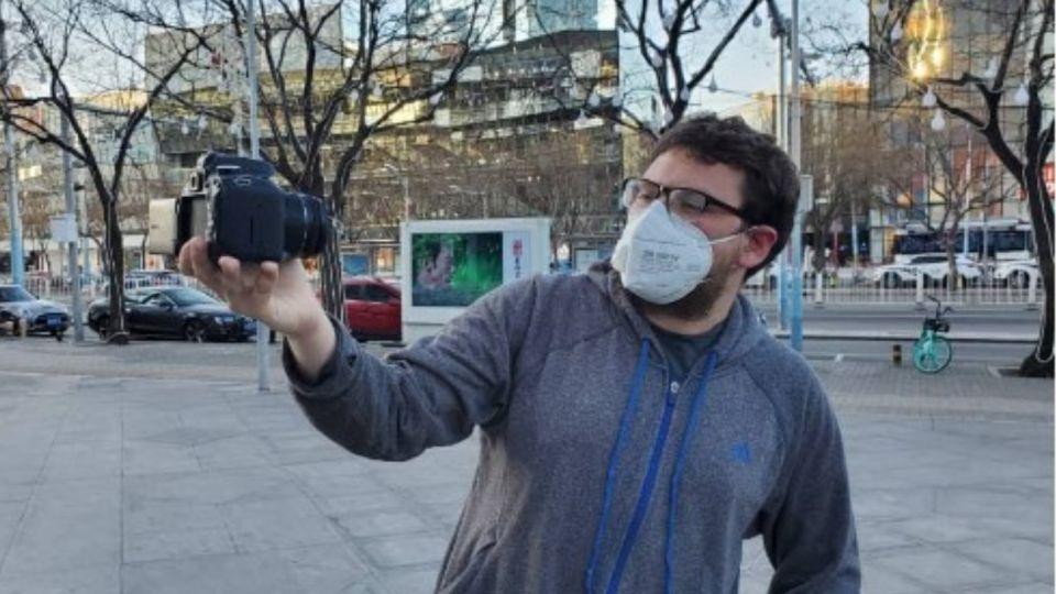 Pablo Levinton Fruchtengarten, el youtuber que editó y viralizó el video de los argentinos.