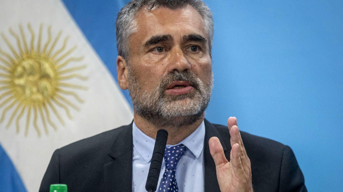 Alejandro Vanoli, director de la ANSES.