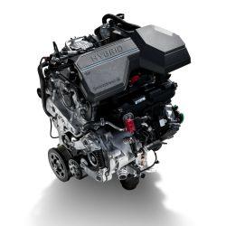 El propulsor naftero 1.6 T-GDi del nuevo Sorento se combina con un motor eléctrico para generar una potencia total de 230 CV.