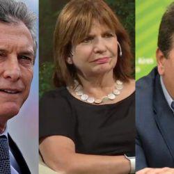 Macri, Bullrich y Ritondo | Foto:Cedoc