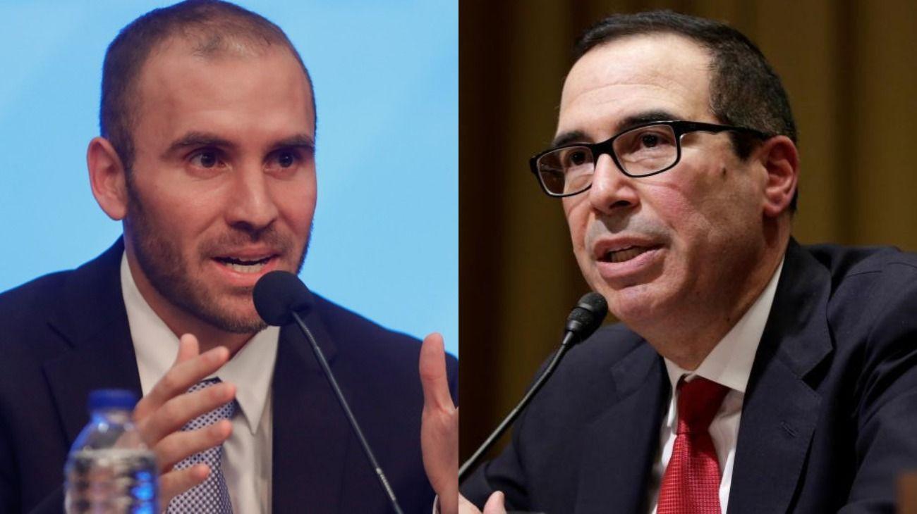 Tras el guiño con el FMI, Guzmán se reúne con el secretario del Tesoro de EE.UU.