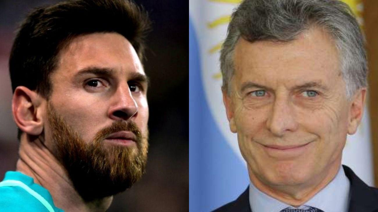 Investigan si el Gobierno de Macri espió al astro futbolístico.