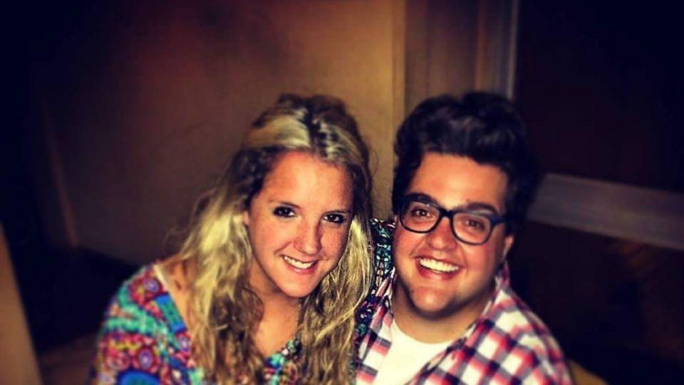 Darío Barassi y su esposa