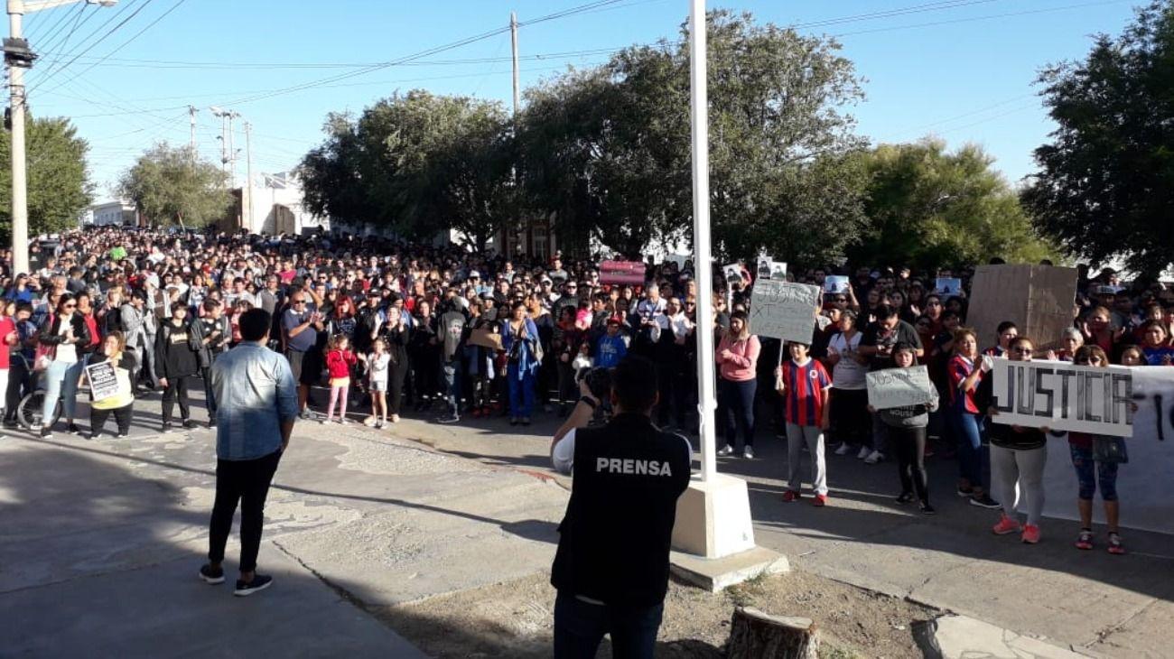 Crimen y violación en Puerto Deseado, Santa Cruz.
