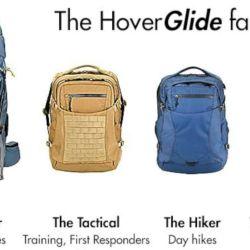 Familia de mochilas HoverGlide.