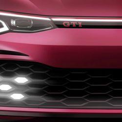Imagen parcial del nuevo Volkswagen Golf GTI.