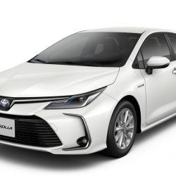 Nueva versión híbrida XEI HV 1.8 del Toyota Corolla 2020.