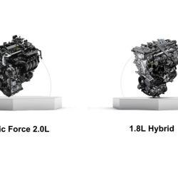 Motores del Toyota Corolla 2020.