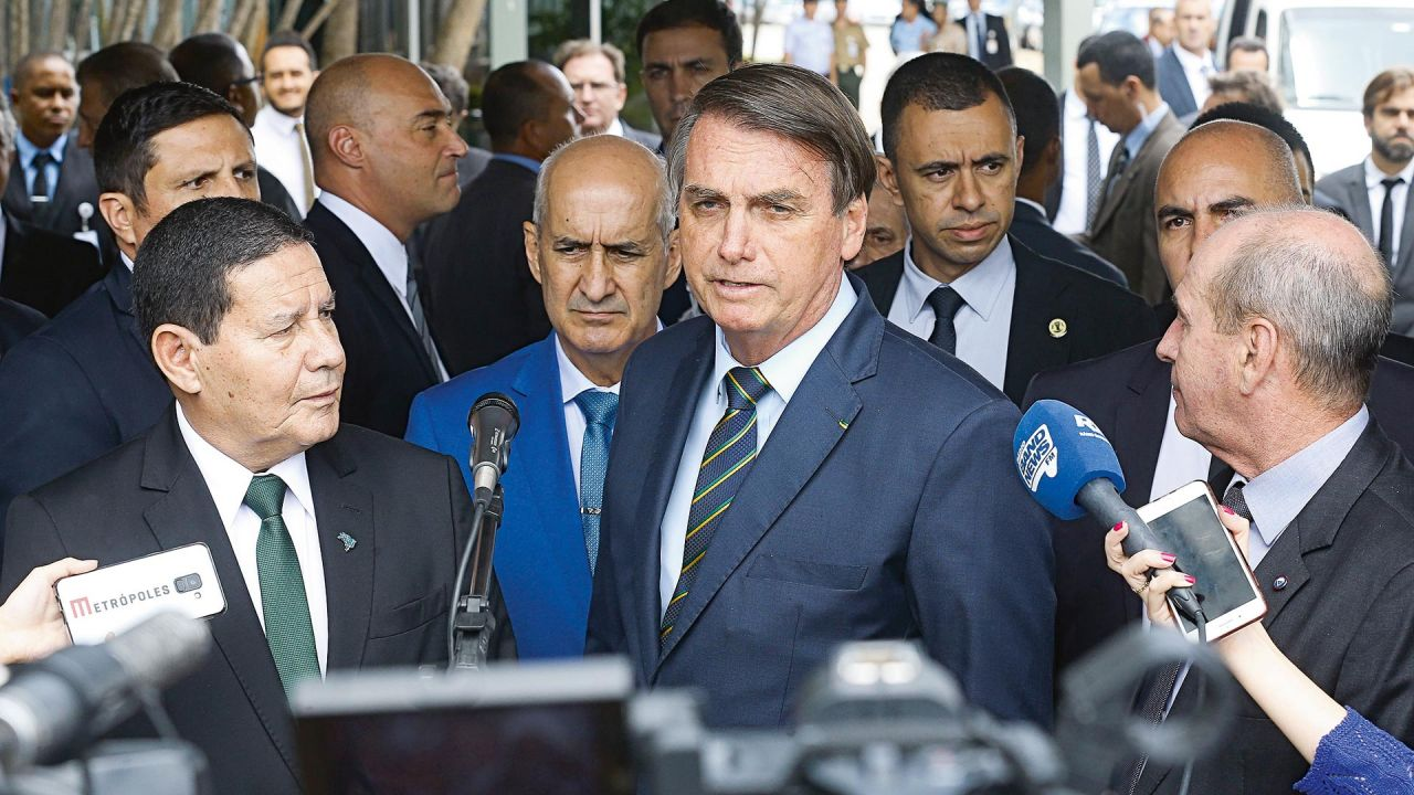 Brasil teme una guerra con Francia | Foto:cedoc