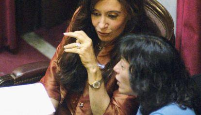 Distancias: Vilma Ibarra vs. Cristina Kirchner