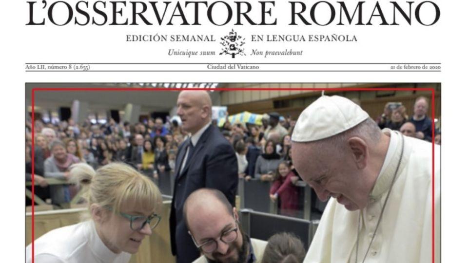 """L'Osservatore Romano de esta semana: """"No hay tierra más hermosa que el corazón ajeno"""""""