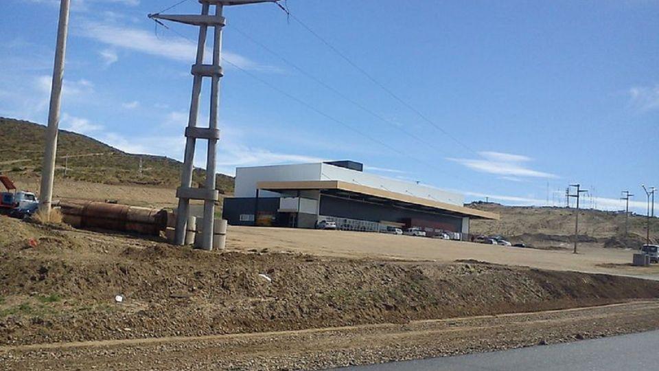 La terminal de Caleta Olivia, donde detuvieron a un sospechoso.