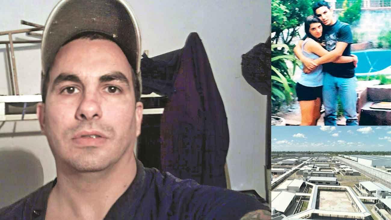 Una vida preso. Lo detuvieron cuando tenía 21 años. Hoy tiene 43. Fabián Tablado está alojado en la U-21 de Campana.