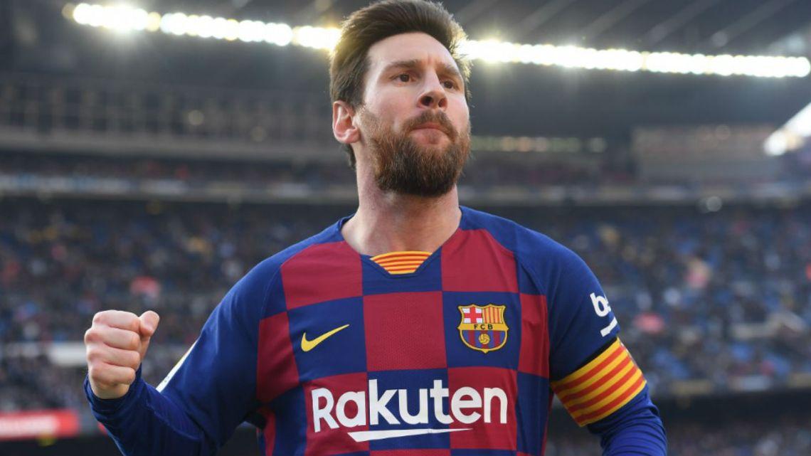 Messi se destapó con el Barcelona y le metió cuatro goles al Eibar
