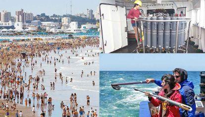 Variaciones. Frente a las costas de Mar del Plata el aumento fue todavía mayor: ascendió 1,6° C, según el estudio de la doctora Daniela Risaro, investigadora del Conicet.