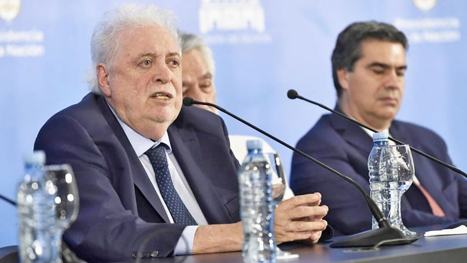 Anuncio. Ginés González lanza el plan Remediar.