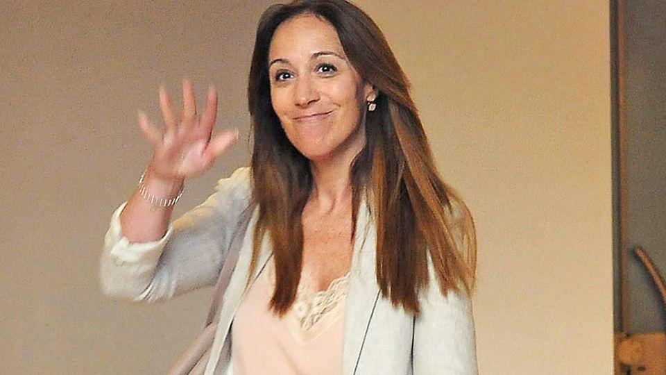Mesa chica. El jueves, Vidal participó de la reunión de conducción del PRO en las oficinas de Macri.