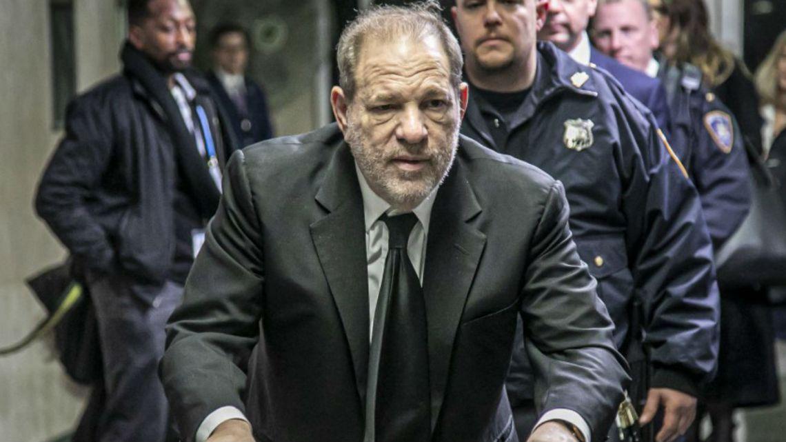 Harvey Weinstein fue declarado culpable de violación y abuso sexual