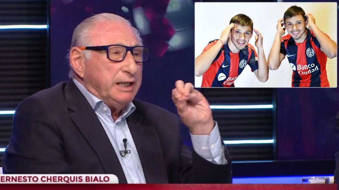 """Cherquis Bialo culpó a los hermanos Romero del mal momento de San Lorenzo: """"Son nefastos"""""""