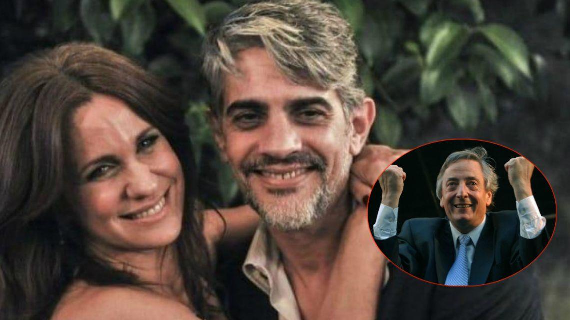 Echarri y Nancy Dupláa recordaron a Néstor Kirchner en el aniversario de su nacimiento