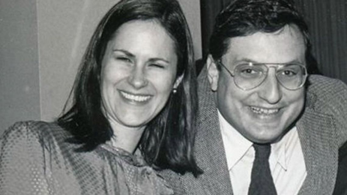 Allen 'Tex' Harris and his wife, Jeanie, photographed in 1982 in Washington DC.