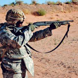 La escopeta pasó a ser parte del equipamiento estándar de diversas fuerzas especiales.