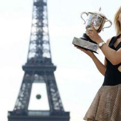 La rusa María Sharapova anunció su retiro del tenis profesional.