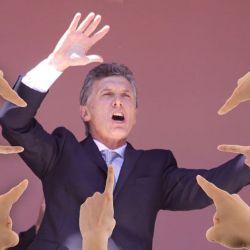 Mauricio Macri señalado | Foto:cedoc