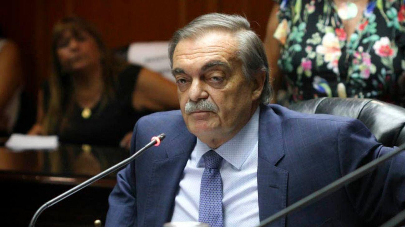 El presidente del Consejo de la Magistratura, Alberto Lugones.