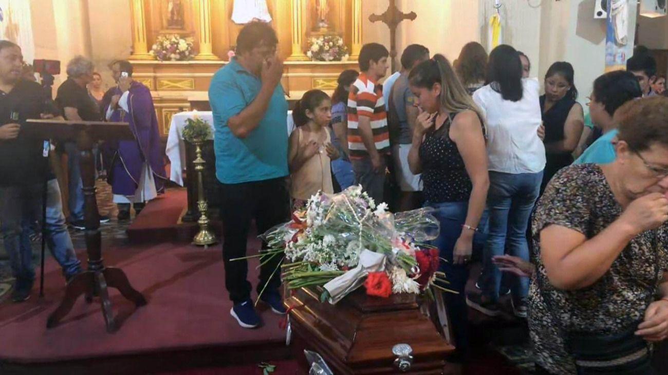 Despidieron los restos del nene asesinado en Puerto Deseado