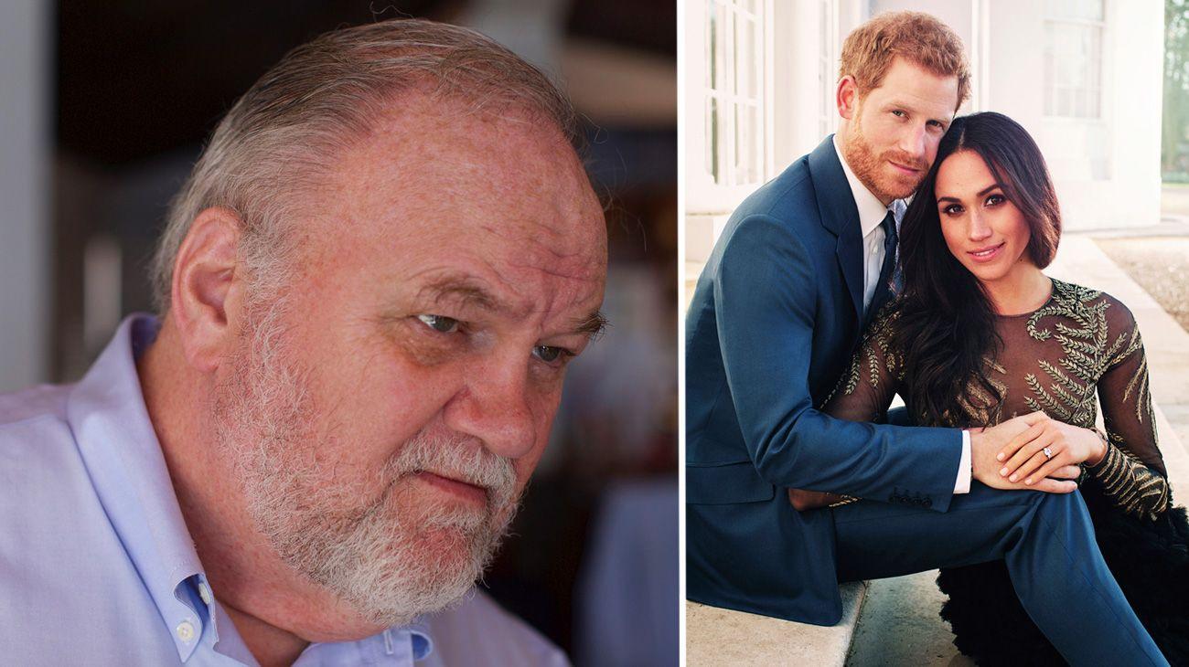 Thomas Markle apunta contra su hija Meghan y el príncipe Harry en su documental.
