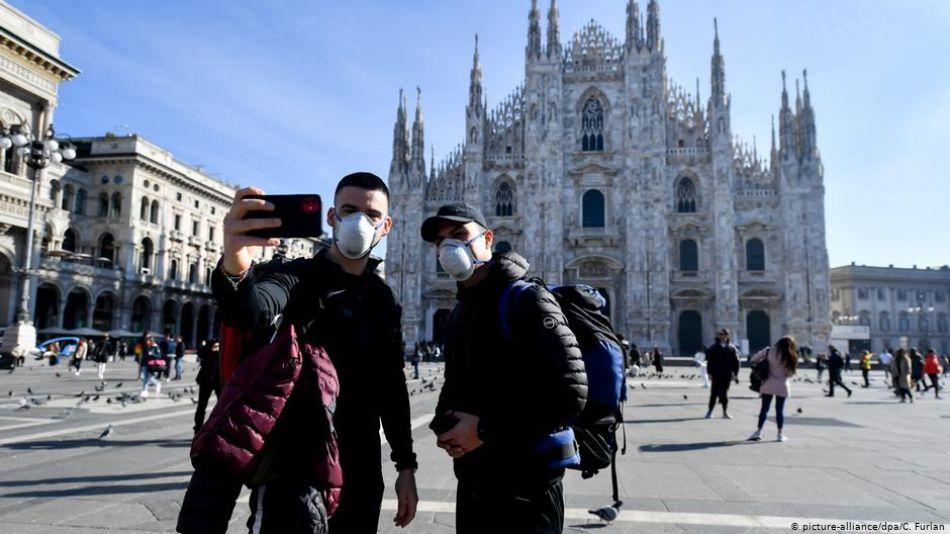 Coronavirus, un golpe para el turismo en Europa
